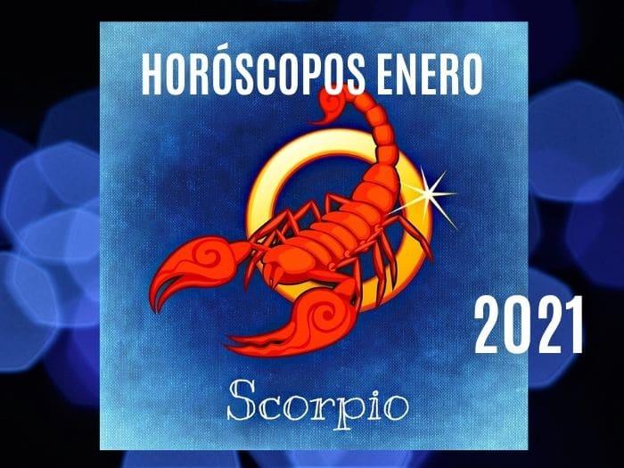 Horóscopo Escorpio Enero 2021