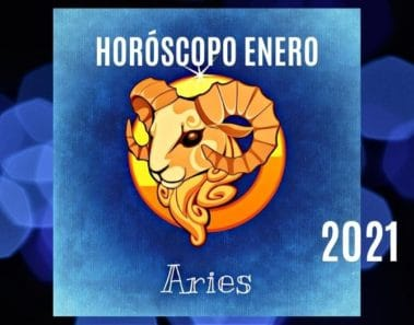 Horóscopo Aries Enero 2021