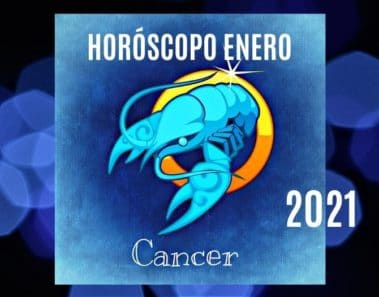 Horóscopo Cáncer Enero 2021