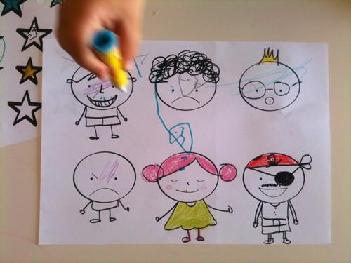 Dibujos Para Colorear Con Niños Manualidades