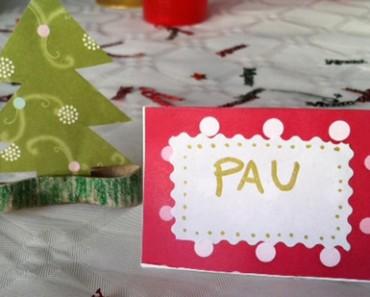 Cómo hacer cartelitos con el nombre para los invitados