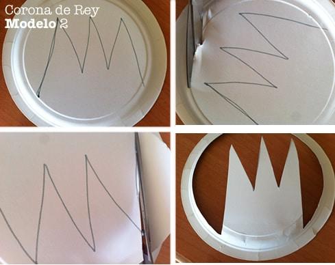 corona de rey manualidades