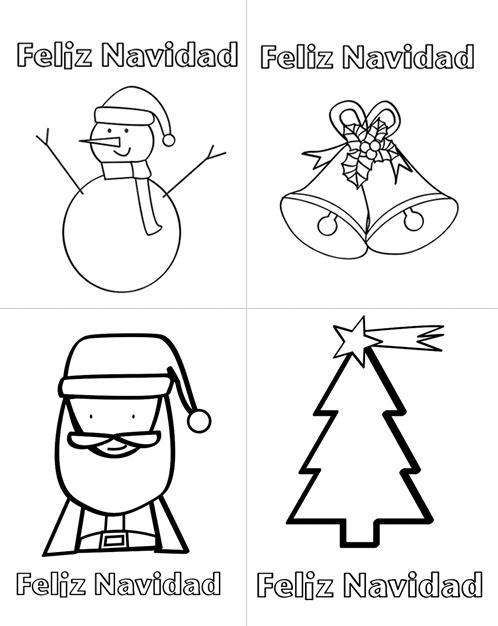 Dibujos de navidad para imprimir manualidades for Figuras navidenas para decorar