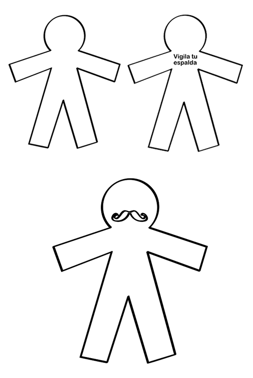 Muñecos Día Inocentes Manualidades