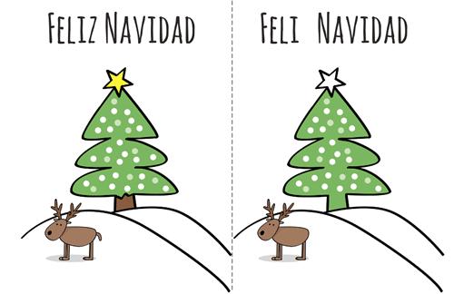Pasatiempos Navidad