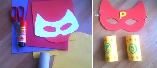 mascara superheroe