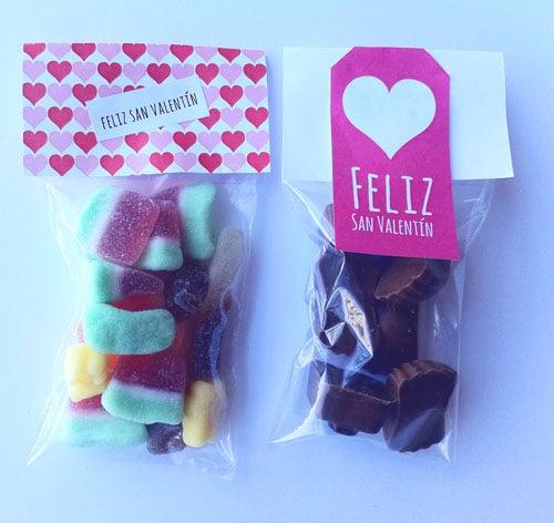 regalar dulces san valentin