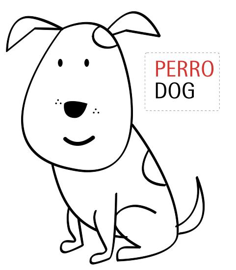 Dibujo De Perro Para Colorear Manualidades