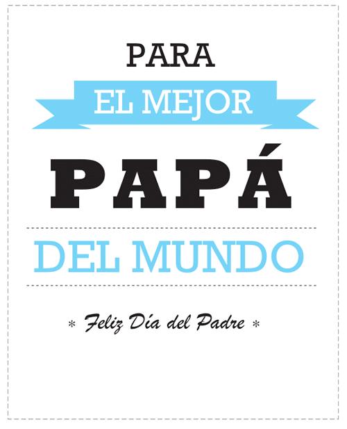 Tarjetas para felicitar el Día del Padre - Manualidades