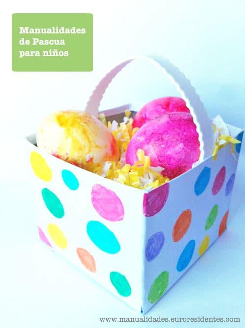 Manualidades Pascua para niños