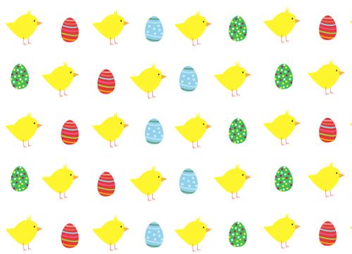 papel decorado para Manualidades de Pascua