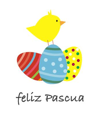 Tarjeta de Pascuas imprimir