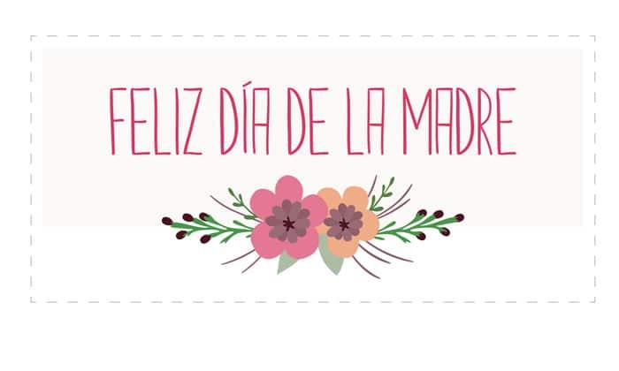Día de la Madre, tarjetas para imprimir gratis