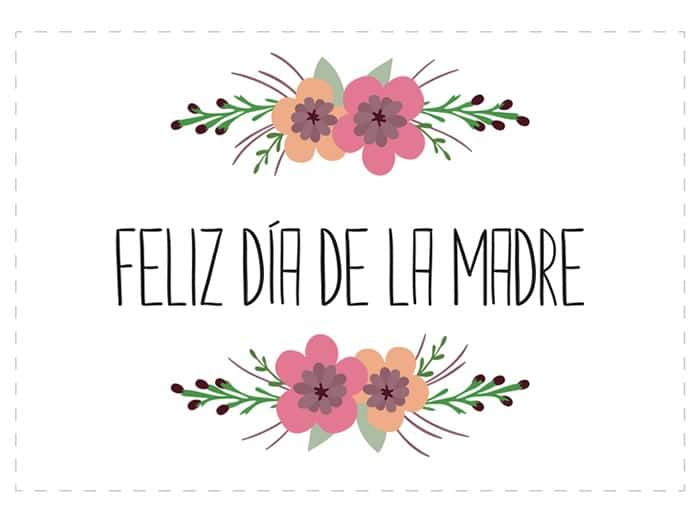 Día de la Madre: tarjetas gratis