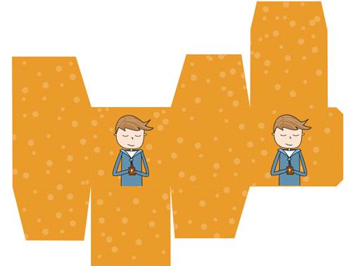 moldes cajas de comunión