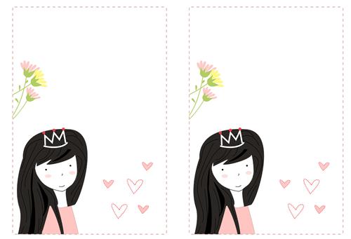 invitación fiestas de princesas