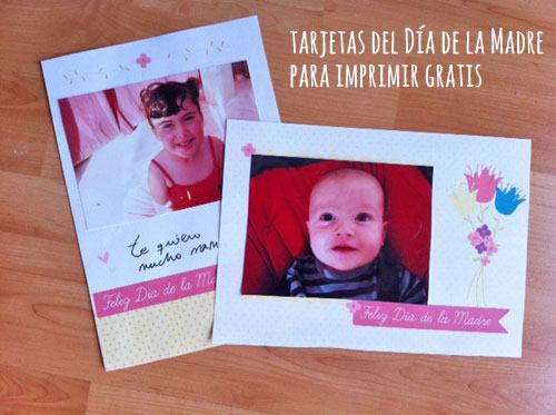 tarjetas día de la madre para imprimir gratis