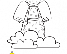 angelito_para_colorear