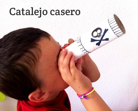catalejo casero