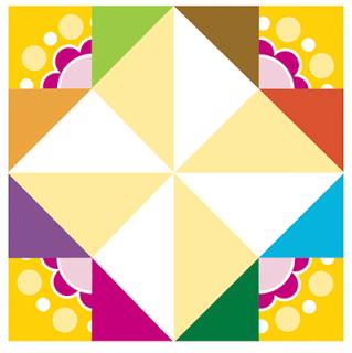 comecocos de papel fácil amarillo