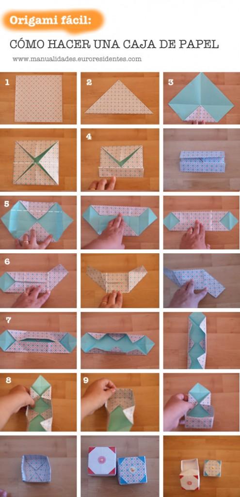 C mo hacer cajas paso a paso manualidades gratis en caja - Como hacer una caja de madera paso a paso ...
