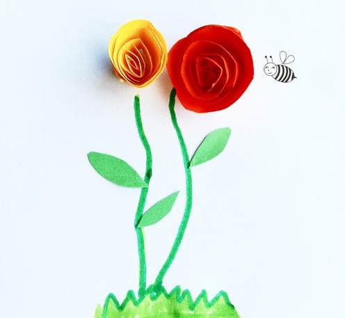 Como Hacer Rosas De Papel Sencillas Manualidades