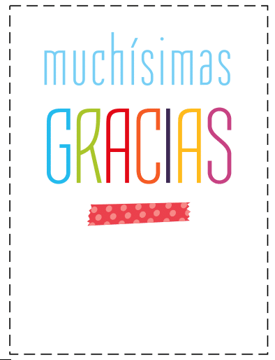 tarjetas agradecimiento para imprimir