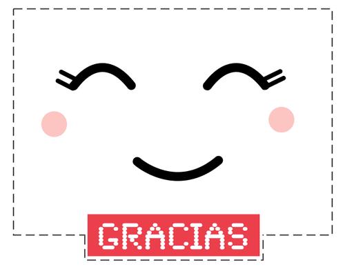 tarjeta gracias