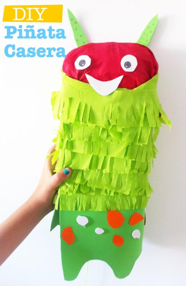 cómo hacer una piñata infantil