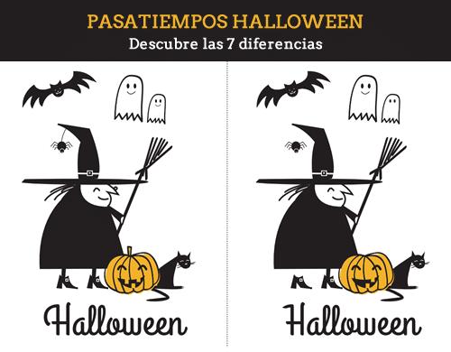 Las 7 Diferencias De Halloween Para Imprimir Manualidades