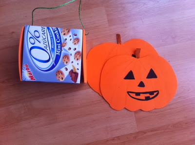 cesta casera halloween