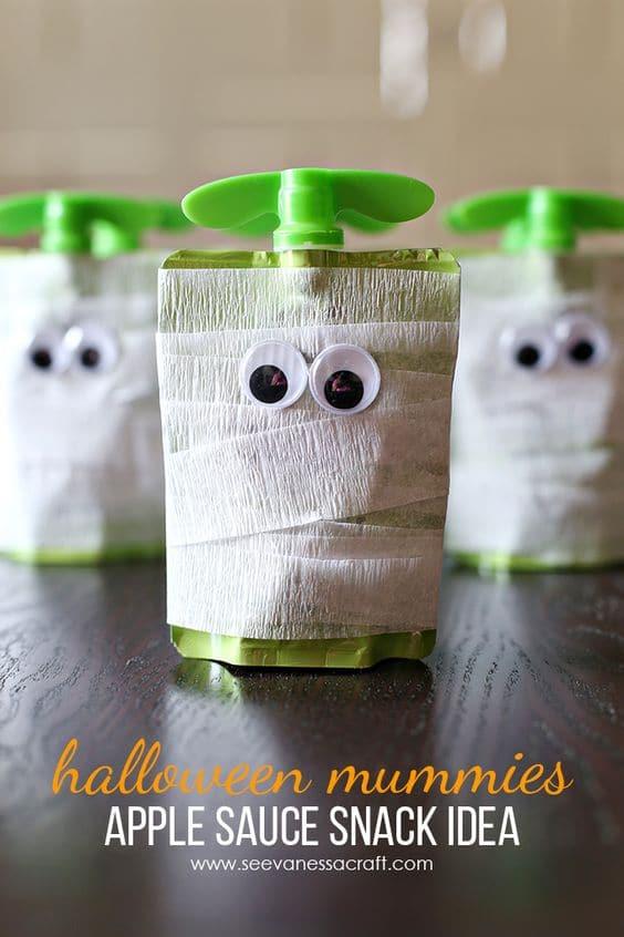 Momias Halloween manualidades