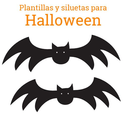 Silueta murciélago halloween