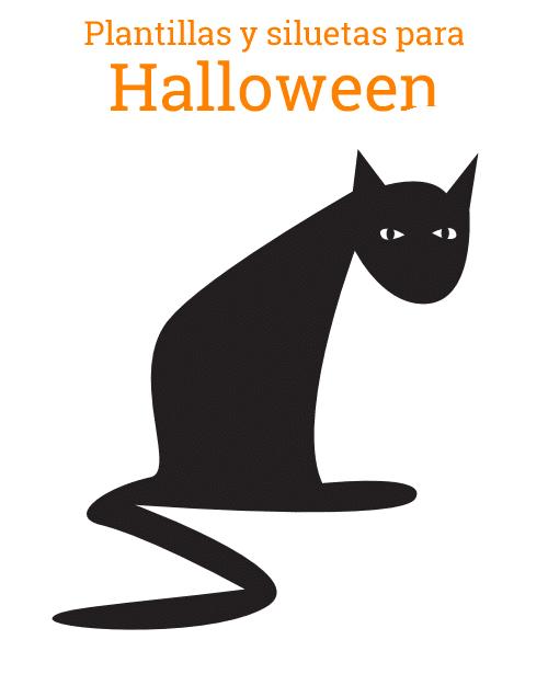 Siluetas de Halloween - Manualidades