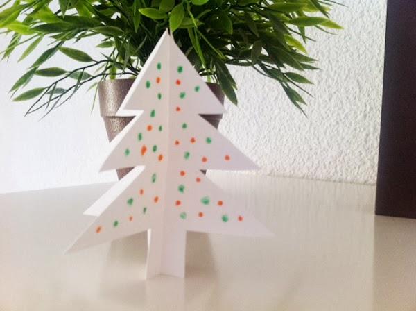 Cmo hacer un rbol para Navidad de cartn Manualidades