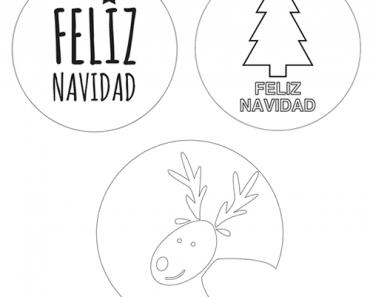 Imprimibles de Navidad