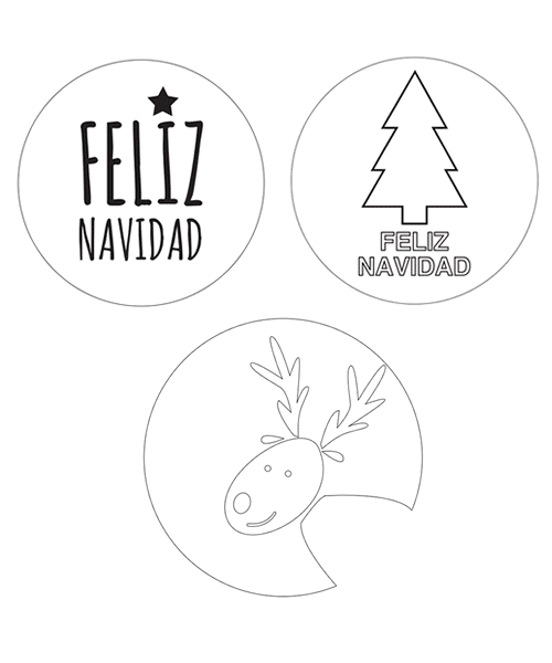 Worksheet. Plantillas de Navidad para imprimir  Manualidades