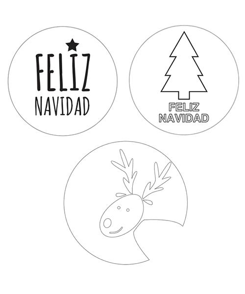patrones y plantillas de navidadad. Plantillas arbol navidad, plantilla de reno y plantilla de feliz navidad
