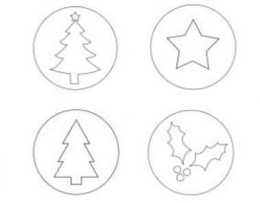Plantillas de Navidad para imprimir