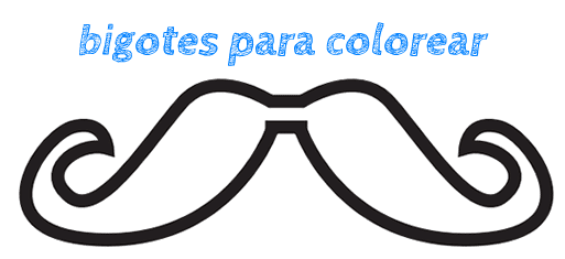 Divertidos bigotes para imprimir - Manualidades
