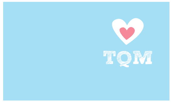 tarjeta amor color azul