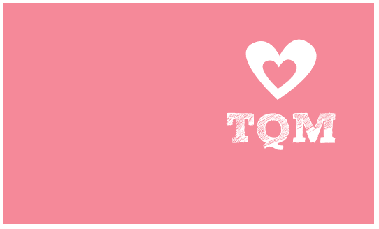 tarjeta amor color rosa