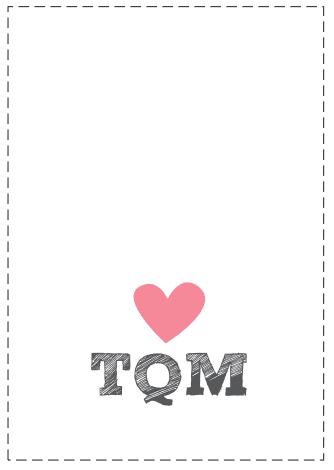tarjeta amor con corazón
