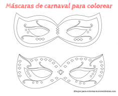 antifaces_fiesta_colorear