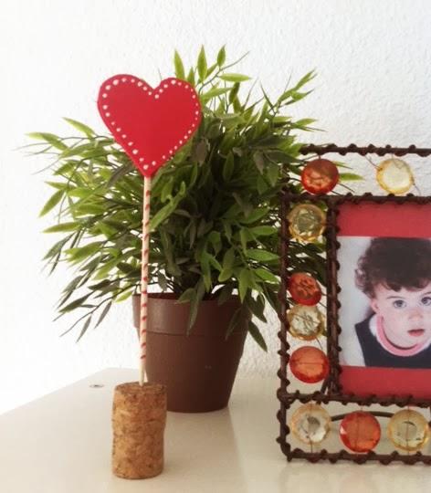 Adorno Decorativo Para San Valentin Manualidades - Decoracion-san-valentin-manualidades