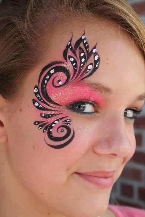 Maquillaje de hada fantasía