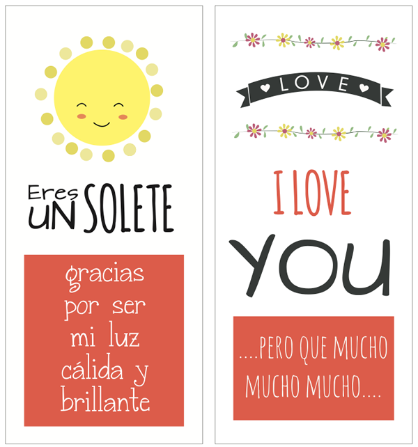 tarjetas 14 de febrero para imprimir