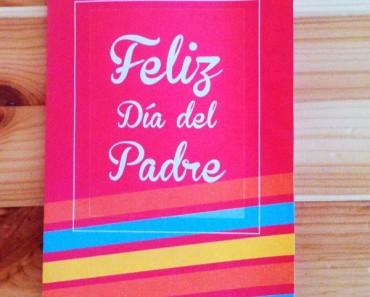 Postales para imprimir del Día del Padre