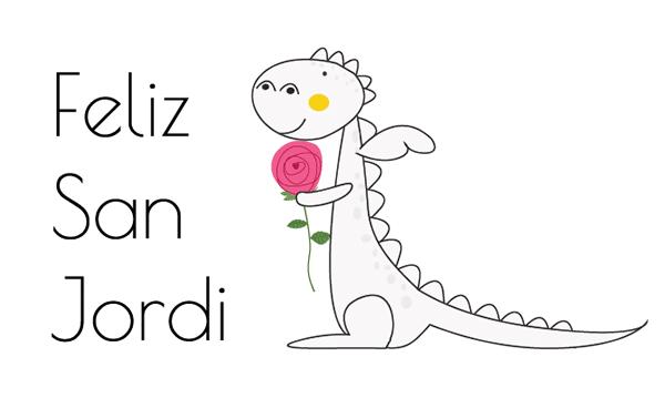 Tarjetas y dibujos de Sant Jordi para imprimir - Manualidades