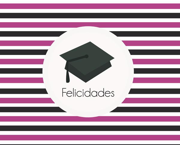 Imprimibles para felicitar la Graduación - Manualidades